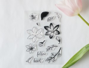 Flowers 3 - stamp set#52