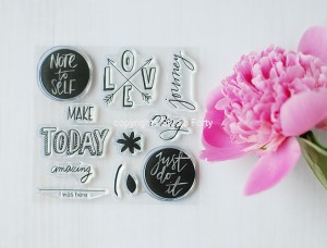 """Make today Amazing""-stamp set#55"