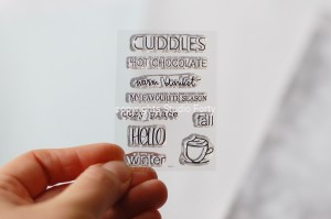 Cuddles -small  stamp set #12