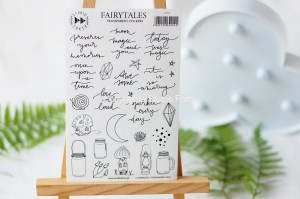 Fairytales- transparent stickers
