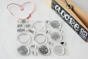 I love You - stamp set#85