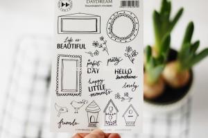 Daydream - transparent stickers