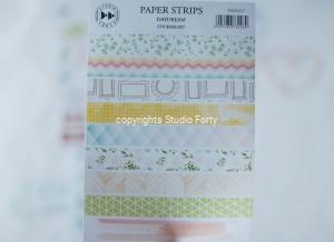 Paper strips- Daydream - sticker set