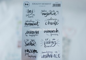 Idealny moment -  sticker set