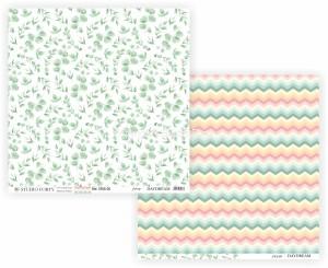 DAYDREAM -foliage / zig zagg - scrapbook paper