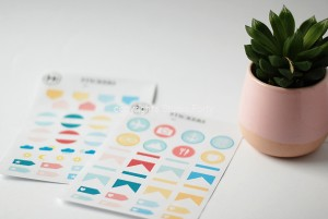 Plannerlove -sticker set ( 2 sets)