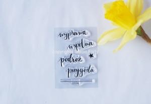 Przygoda -small  stamp set #20
