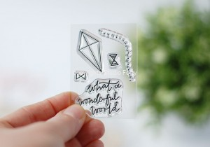 Kite -small  stamp set #17