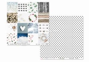 JOYFUL -Bits&pieces / Starry night - scrapbook paper