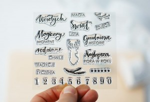 Magiczny moment - stamp set#100