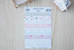Joyful - paper strips - sticker set