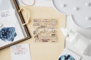 Space Travel- stamp set#107