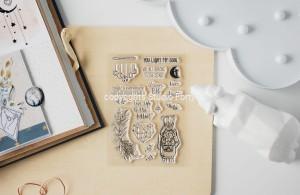 Moon Kiss - stamp set#105