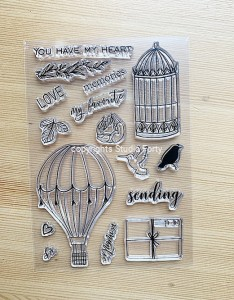 Sending love - stamp set#110