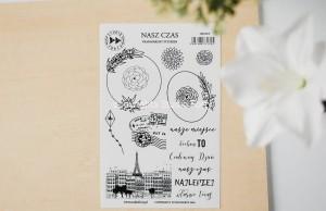 Nasz czas- transparent stickers (polskie)
