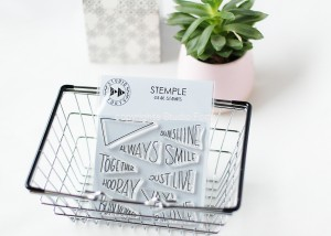 """Always smile"" - stamp set#69"