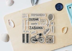 Zabawa - stamp set#117