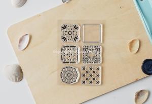 Azulejos - stamp set#118