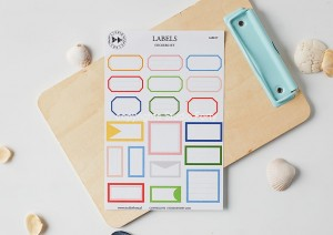 Labels - sticker set