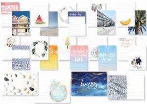 Bom Dia  - journaling cards (set of 12)