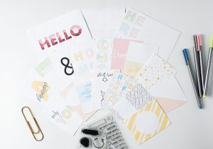 Story Details  - journaling cards (set of 19)