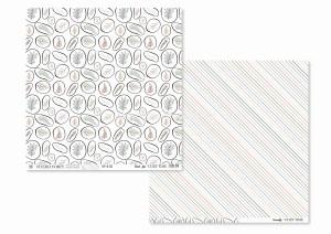 COZY TIME -02- scrapbook paper