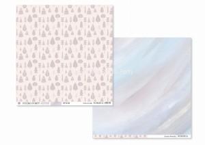 NORDICA -02- scrapbook paper