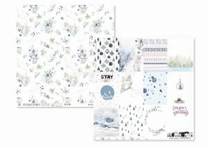 NORDICA -06- scrapbook paper