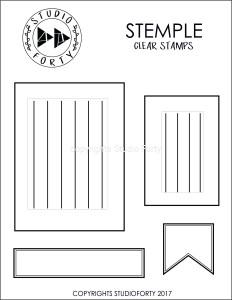 """""""Four frames"""" - stamp set #36"""