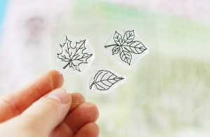 Leaves -small  stamp set #10