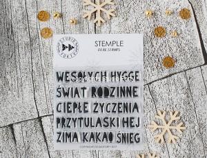 """""""Wesołych Świąt"""" -stamp set#65"""