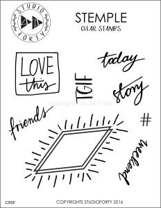 """TGIF"" - stamp set #29"