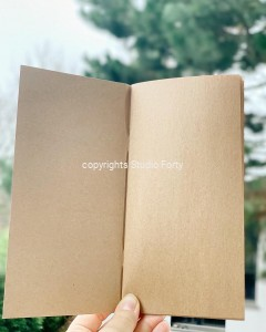 Notes Podróżnika Eco/Kraft - Journey Notebook ECO/KRAFT