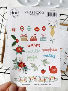 Xmas Mood -  sticker set